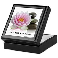You Are Fearless Affirmation Keepsake Box