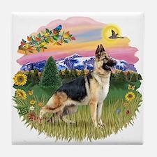 MtCountry-G Shep #13 Tile Coaster