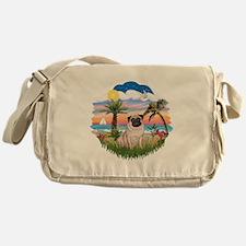 Palms - Pug #17 Messenger Bag