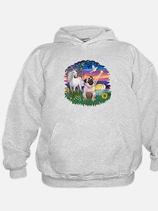 Magical Night - Pug #22 Hoodie