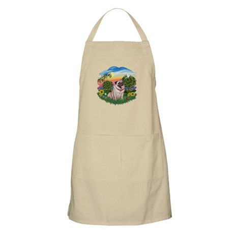 Bright Country-Pug #2 Apron