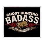 Ghost Hunting Badass Throw Blanket