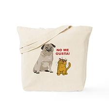 Dog No Me Gusta Cat Tote Bag