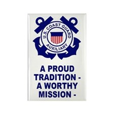 USCG Auxiliary Pride<BR> Vertical Magnet