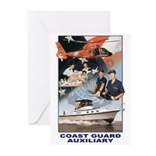 USCG Auxiliary Pride<BR> 6 Greeting Cards