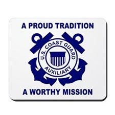 USCG Auxiliary Pride<BR> Mousepad
