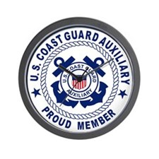 USCG Auxiliary Pride<BR> Wall Clock