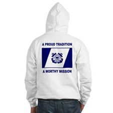 USCG Auxiliary Pride<BR> Hoodie 2