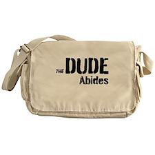 Dude Abides Messenger Bag