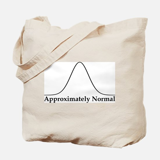 Approximately Normal Statistics Tote Bag