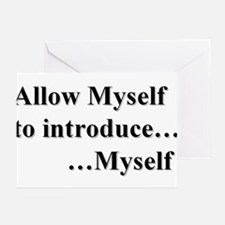 Allow Myself Greeting Cards (pk Of 20)