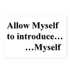 Allow Myself Postcards (Package of 8)