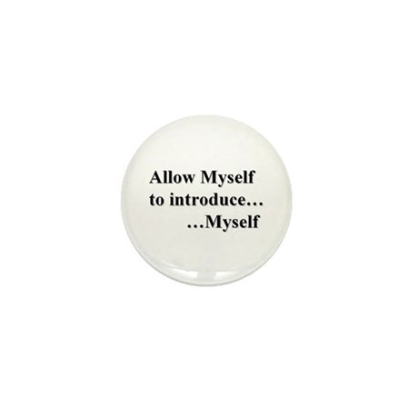 Allow Myself Mini Button (100 Pack)