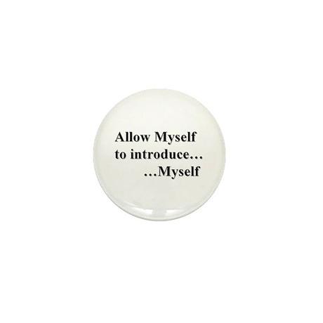 Allow Myself Mini Button