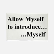 Allow Myself Rectangle Magnet (10 Pack) Magnets