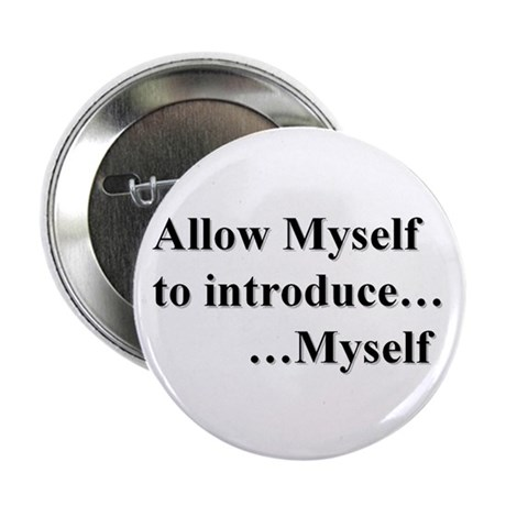 "Allow Myself 2.25"" Button (100 pack)"