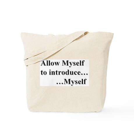 Allow Myself Tote Bag