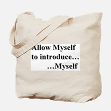 Allow Myself Tote Bag