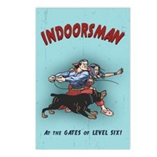 Indoorsman II Postcards (Package of 8)