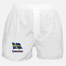 Swedish Flag 1 Boxer Shorts