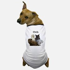 Owls Dog T-Shirt
