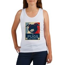 In Pugs We Trust Women's Tank Top