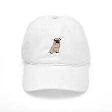 Cartoon Pug Baseball Cap