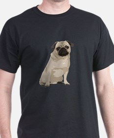 Cartoon Pug T-Shirt