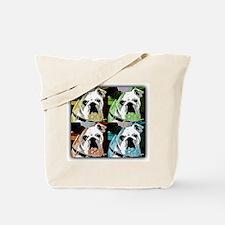 Mug the Bull Dog Tote Bag