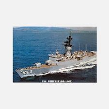 USS WHIPPLE Rectangle Magnet