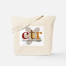CTR brown flower Tote Bag