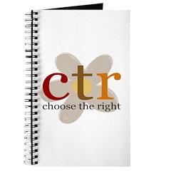 CTR brown flower Journal