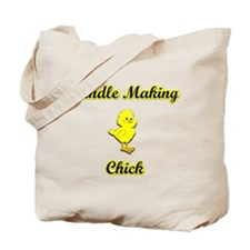 Candle Making Chick Tote Bag