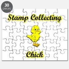 Stamp Collecting Chick Puzzle