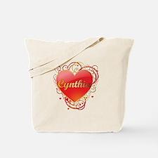 Cynthia Valentines Tote Bag
