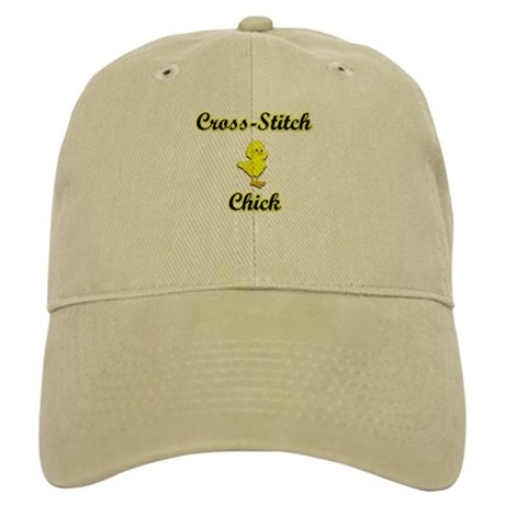 Cross-Stitch Chick Cap