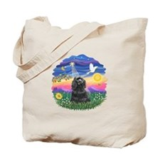 Twilight-BlackCocker Tote Bag