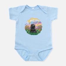Guardian-BlackCocker Infant Bodysuit