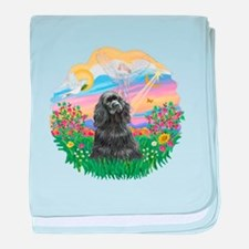 Guardian-BlackCocker baby blanket