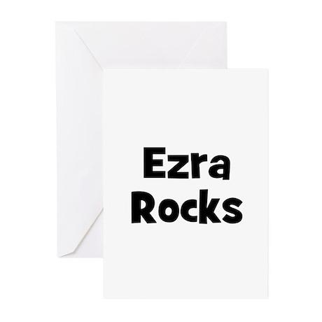 Ezra Rocks Greeting Cards (Pk of 10)