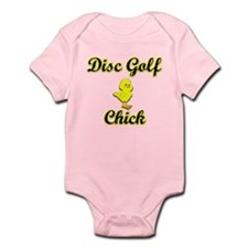 Disc Golf Chick Infant Bodysuit