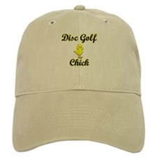 Disc Golf Chick Baseball Cap