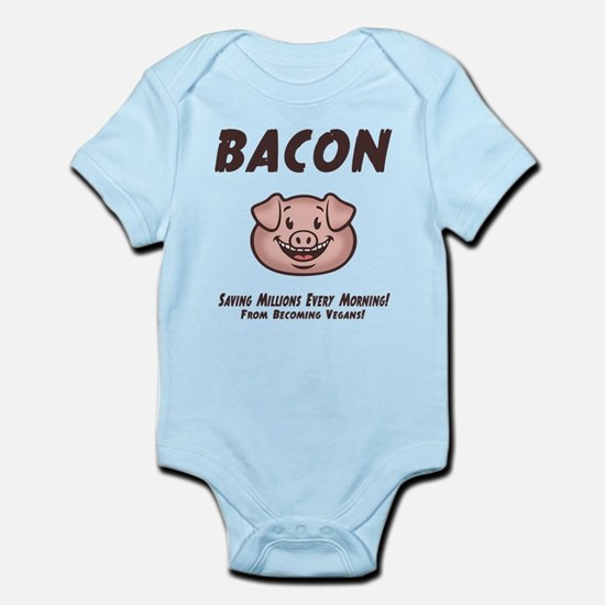 Bacon - Vegan Infant Bodysuit