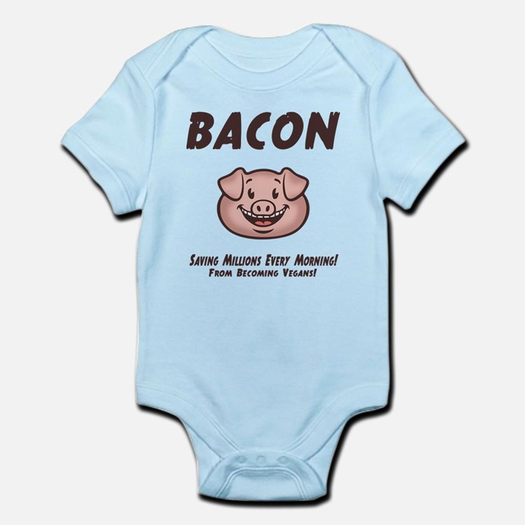 Bacon - Vegan Infant Bodysuit