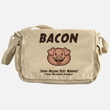 Bacon - Vegan Messenger Bag