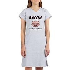 Bacon - Vegan Women's Nightshirt