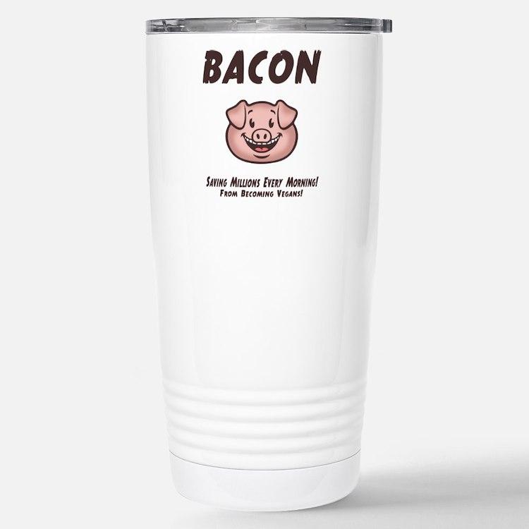 Bacon - Vegan Travel Mug