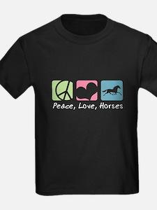 Peace, Love, Horses T