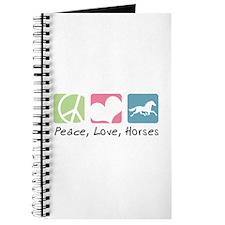 Peace, Love, Horses Journal