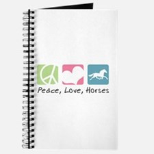 Peace, Love, Horses Journal